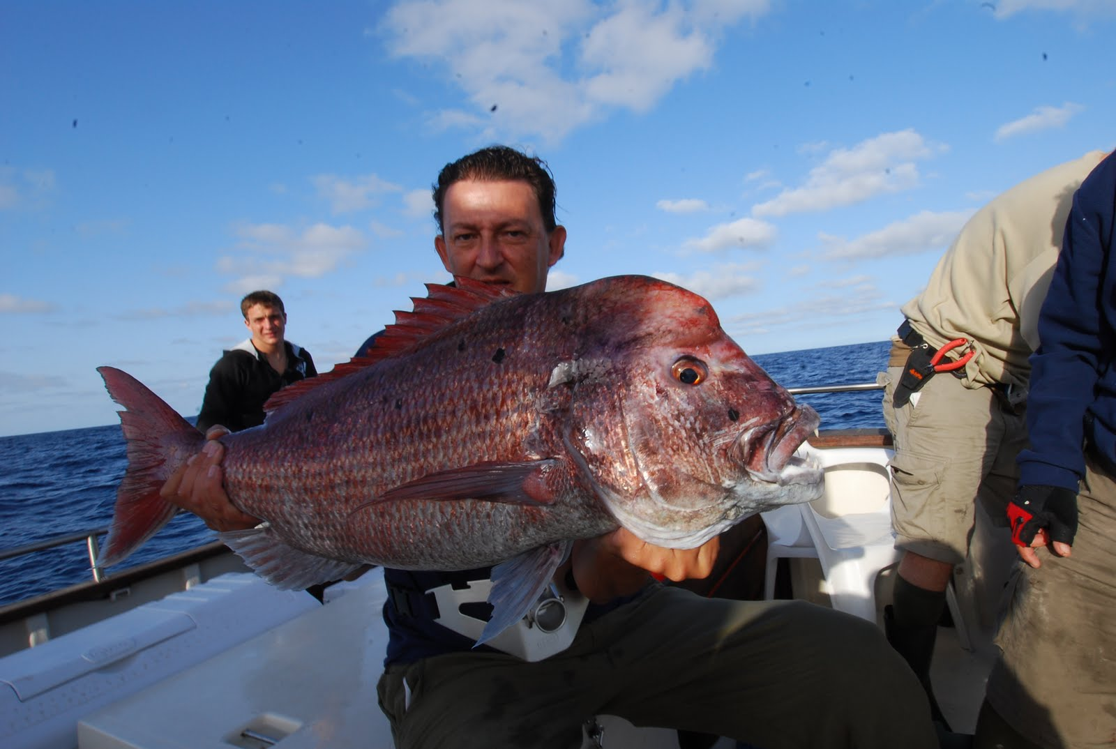 Pesca en la Graciosa Sama