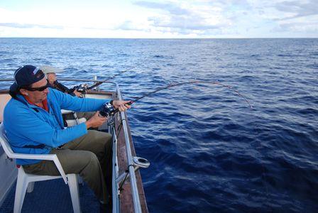 Pesca en  La Graciosa 2012