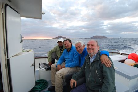 Pesca en  La Graciosa 2012 Grupo